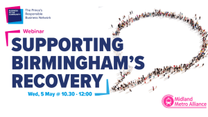 Community Conversation Birmingham with Business in the Community and Midland Metro Alliance