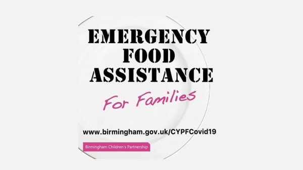 Emergency food assistance for families