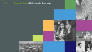 A new programme of strategic support and development for the VCFSE sector