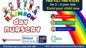 Free Full-time nursery places for all children from next term