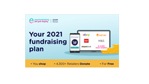 Fundraising in 3 easy steps with Easyfundraising