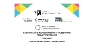 Innovation and Enterprise in the Social Economy in the West Midlands