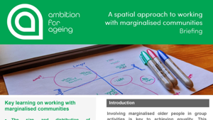 A spatial approach to working with marginalised communities