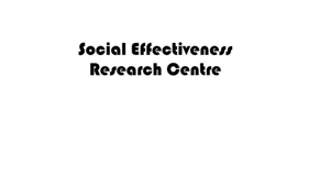 The Social Effectiveness Research Centre