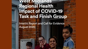 West Midlands Regional Health Impact of COVID-19 Task and Finish Group